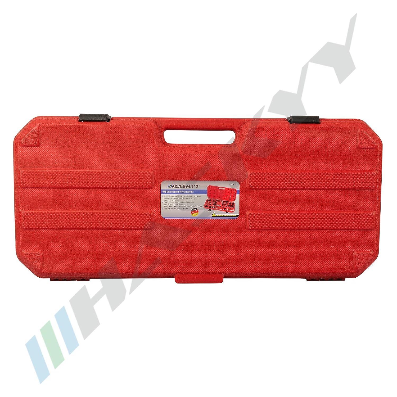 29 PC Motor herramienta de ajuste herramienta de bloqueo correa de distribuci/ón levas herramienta de vag Motores INCL caja y manual