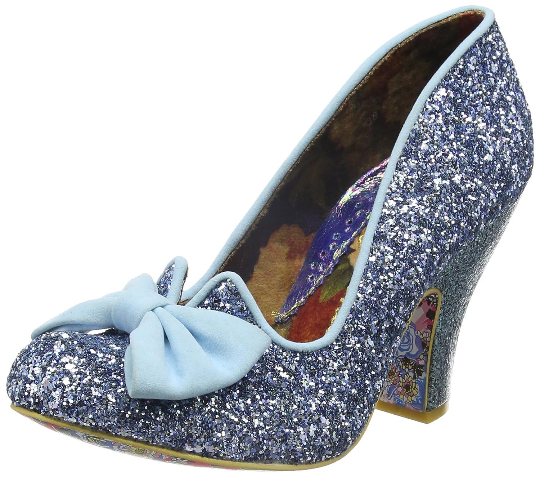 Irregular Choice Nick of Time, Zapatos de Tacón Mujer 39 EU|Azul (Pale Blue)