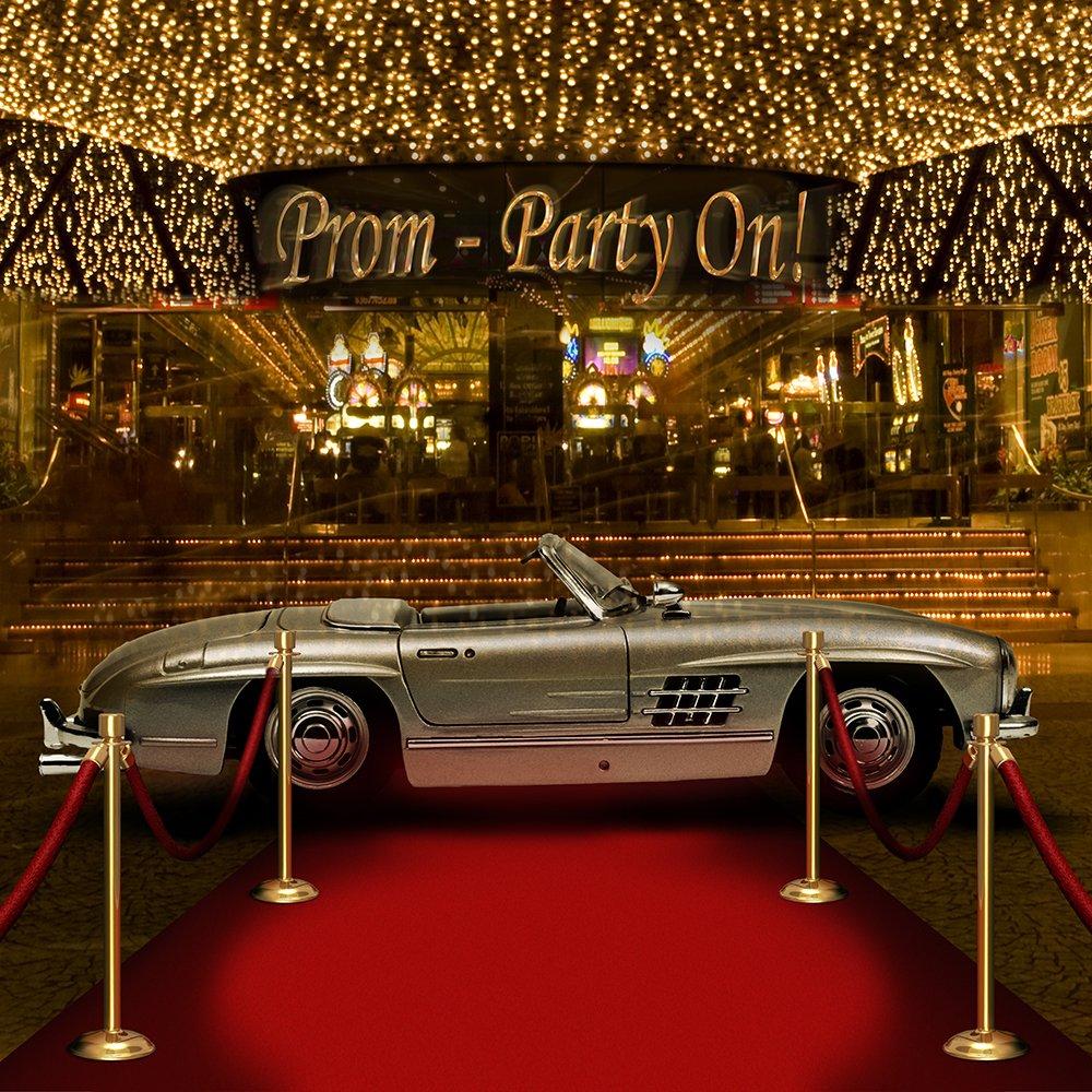 写真バックドロップ – Prom – Party On – 10 x 10 ft。シームレスなファブリック   B00OM8L8I4