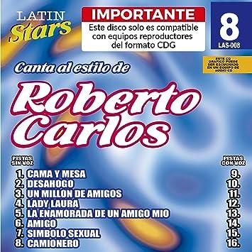Roberto Carlos - Karaoke: Roberto Carlos 1 - Latin Stars Karaoke - Amazon.com Music