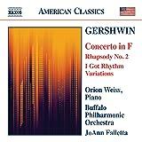 Gershwin: Concerto in F; Rhapsody No. 2 / I Got Rhythm Variations