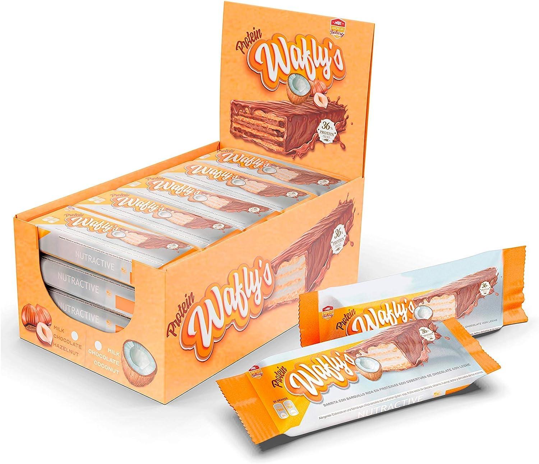 MTX nutrition ProteinWAFLYS Caja [18 x 35 g.] Coco Chocolate ...