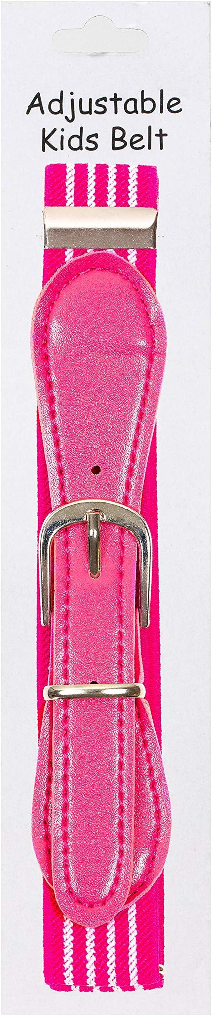 Fancy Kids Elastic Adjustable Buckle Belt Availaible in 13 colors
