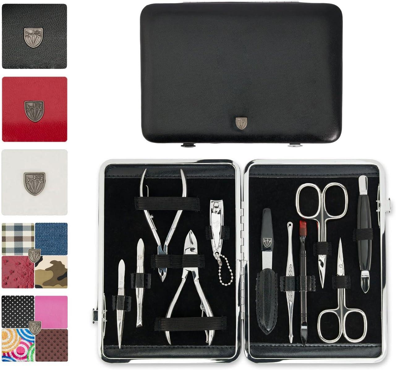 3 Swords-•,,,-- -Estuche de manicura-set de manicura-pedicura-beaute-beauty/cuidado de las uñas de manos y pies personal/• 11 piezas • Marca de calidad: Amazon.es: Belleza