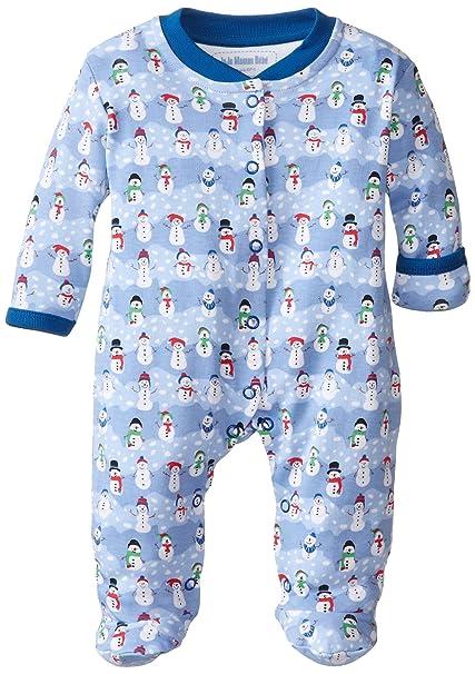 Amazon.com: JOJO maman bebe Unisex-Baby Newborn Footie ...