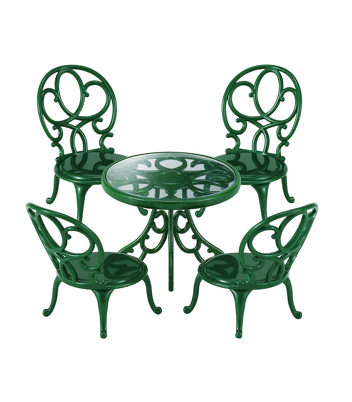 Sylvanian Families - Mesa y sillas de jardín (Epoch para Imaginar 4507) Casas de Muñecas