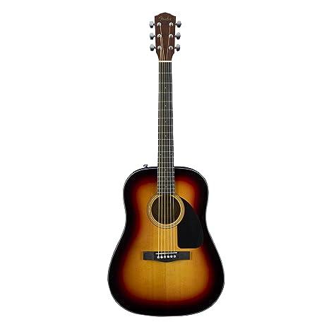 Guitarra acústica Fender CD-60 – Sunburst: Amazon.es: Instrumentos ...