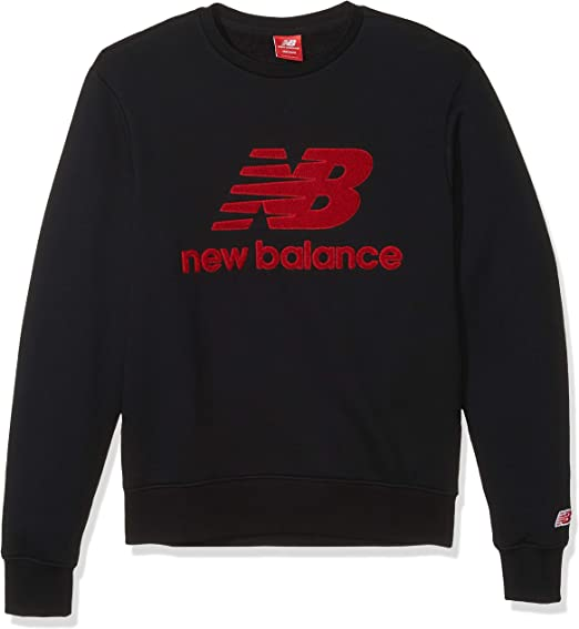New Balance Men's Athletics Stadium Crew Neck Sweatshirt