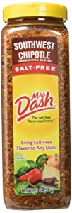 Mrs Dash Southwest Chipotle Seasoning Blend Salt-Free 21 oz 595 g