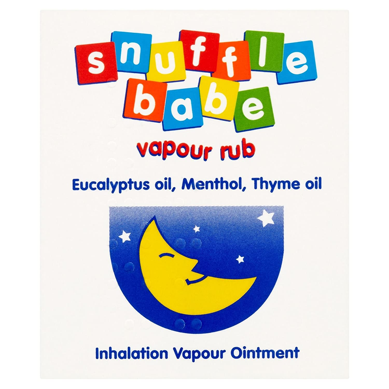 Snufflebabe 24g Vapour Rub Dendron Ltd 050802