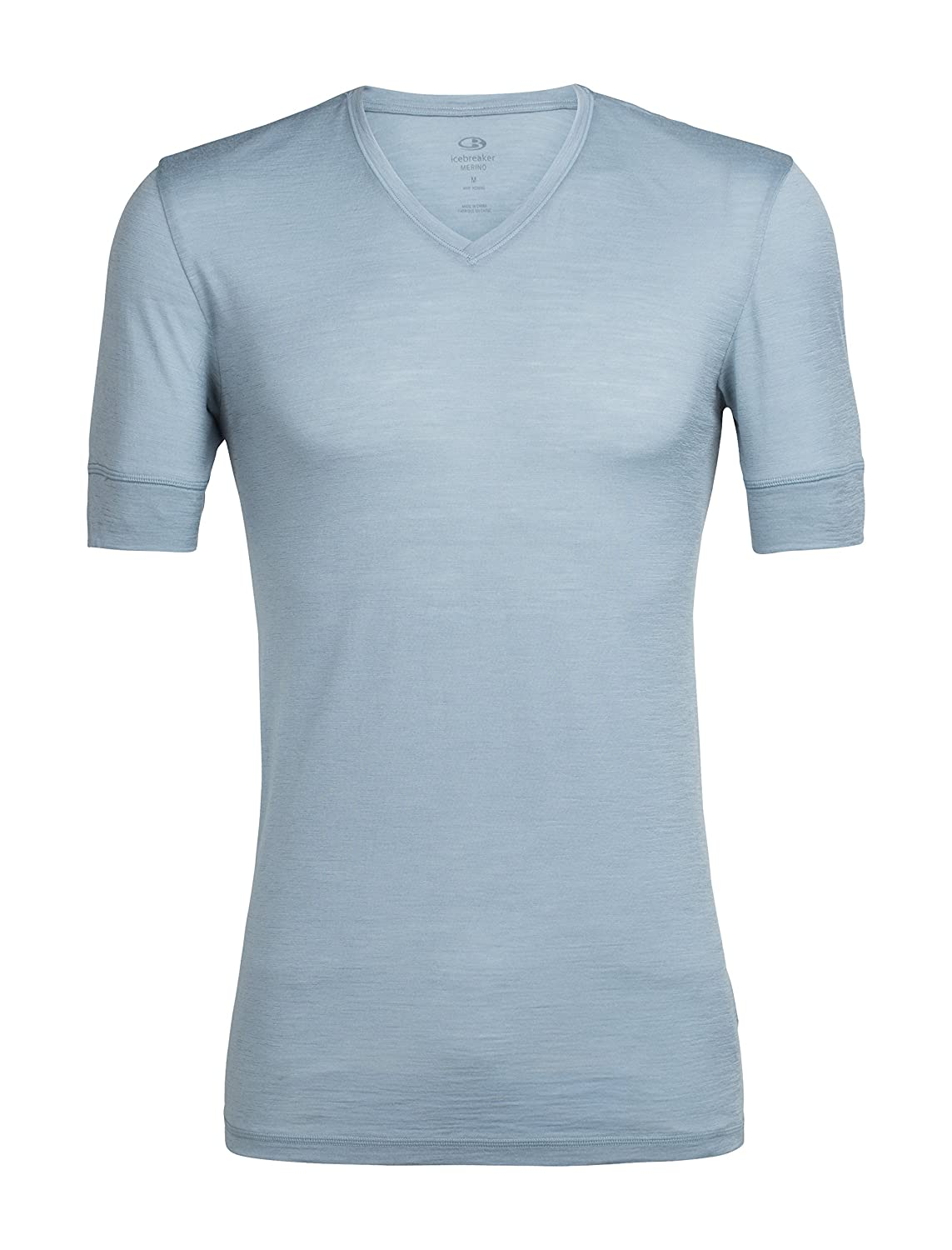 ed5ac0e925 Amazon.com: Icebreaker Merino Men's City Lite Short Sleeve V-Neck Shirt,  Merino Wool: Sports & Outdoors
