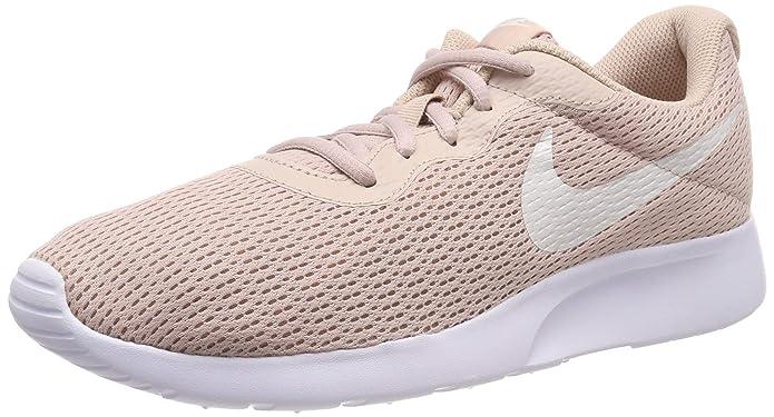 Nike Tanjun Damen Sneaker Laufschuhe Beige