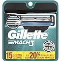 15-Count Gillette Mach3 Mens Razor Blade Refills