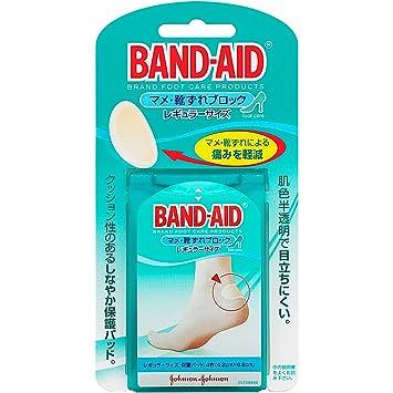amazon band aid バンドエイド マメ 靴ずれブロック レギュラー