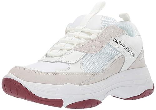 official photos 6e1cc dd69a Calvin Klein Jeans Maya Mesh Donna Sneaker Bianco