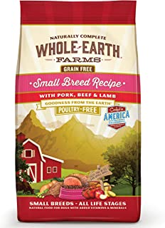 product image for Whole Earth Farms Grain Free Small Breed Dry Dog Food