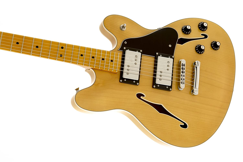 Fender Modern Player Starcaster Mn Natural Musical Coronado 2 Wiring Diagram Instruments