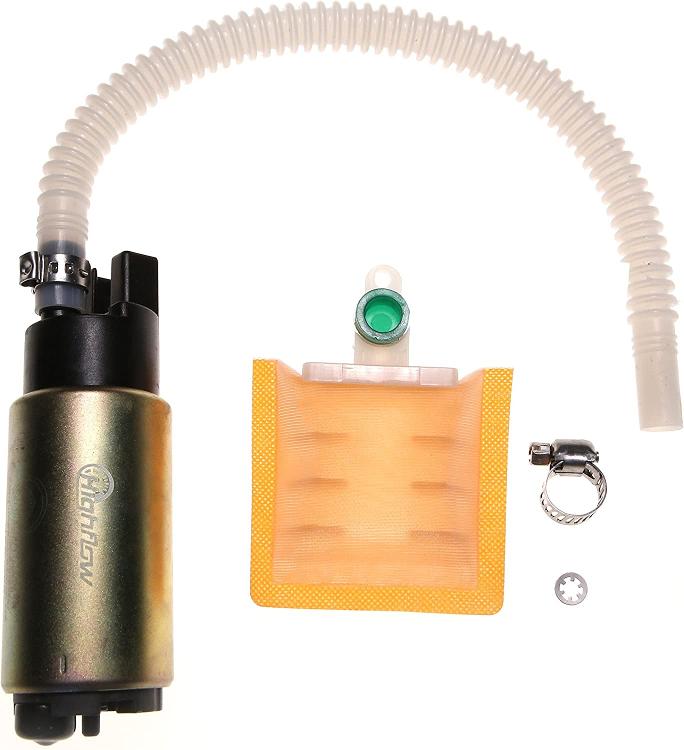 FLHP FLHTP FLHRSEI FLTRI FLHR FLHRSEI FLHPEI FLHTPI FLHR 2000-2007 HFP-382-HD Motorcycle Fuel Pump with Installation Kit Replacement for HD Night Train//Police//Road Glide//Road King//Road Touring