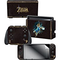 Controller Gear Nintendo Switch Skin & Screen Protector Set, Officially Licensed By Nintendo - The Legend of Zelda…
