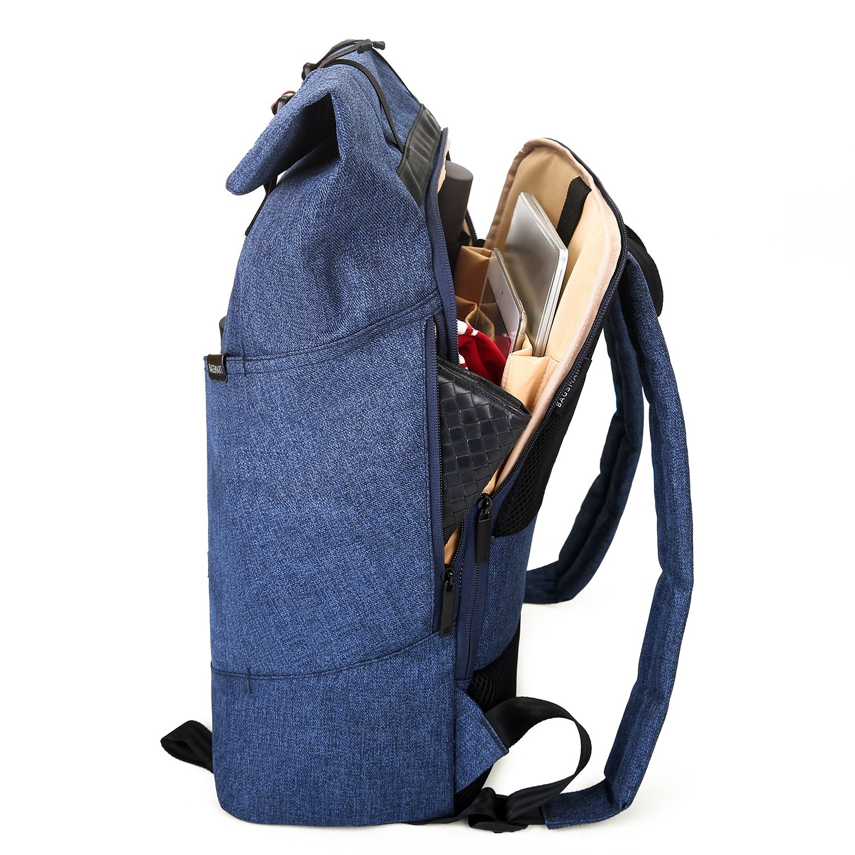 d84773001d54 Bagsmart Roll Top Backpack