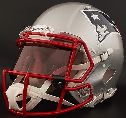 bf1d19fd6d3 Amazon.com   Riddell Custom New England Patriots Full Size NFL Speed ...