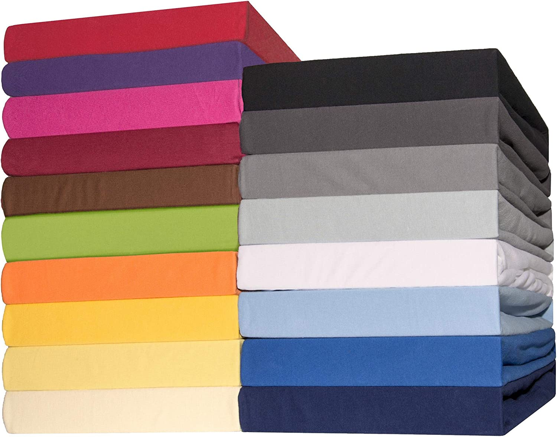 CelinaTex Lucina Sábanas Ajustables algodón 90x200-100x200 cm Verde