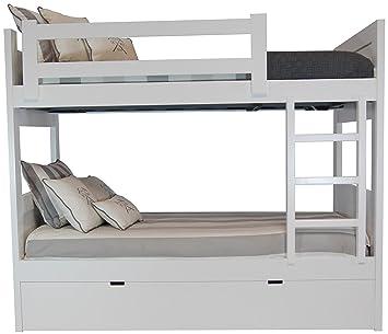 Amazonde Etagenbett Insgesamt 3 Betten Mdf Holz 4 Cm Dick