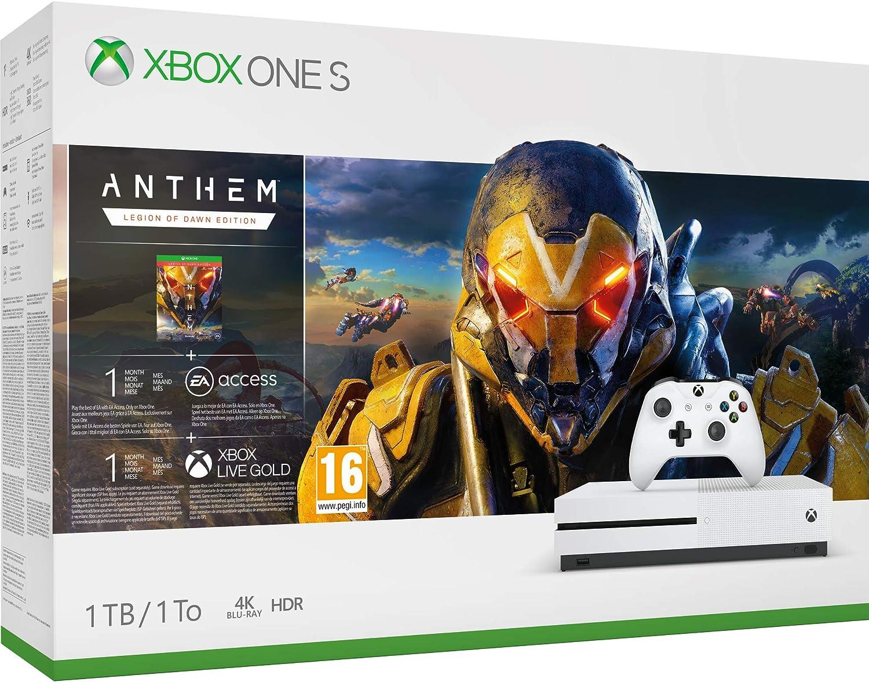 Xbox One S 1TB Console - Anthem Bundle - Xbox One [Importación ...
