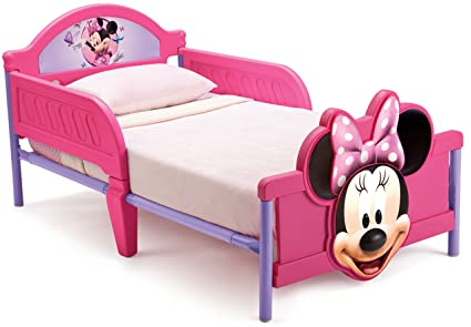 Disney Minnie Mouse 3D Toddler Bed with Bedguard: Amazon.co.uk: Baby