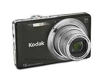 Amazon.com : Kodak Easyshare M381 Digital Camera (Black) : Point ...