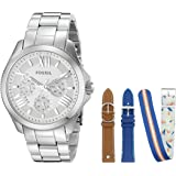 Fossil Women's LE1036 Cecile Analog Display Analog Quartz Watch with Interchangeable Straps