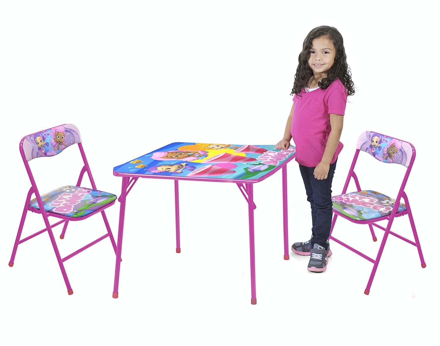 Amazon.com: Nickelodeon Bubble Guppies Table and Chair Set, 3-Piece ...