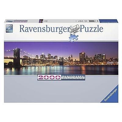 Ravensburger - New York Skyline Panorama, Puzzle de 2000 Piezas (16694 7): Juguetes y juegos