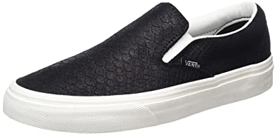 Vans Classic Slip-On (Snake) Black/Blanc Sneakers