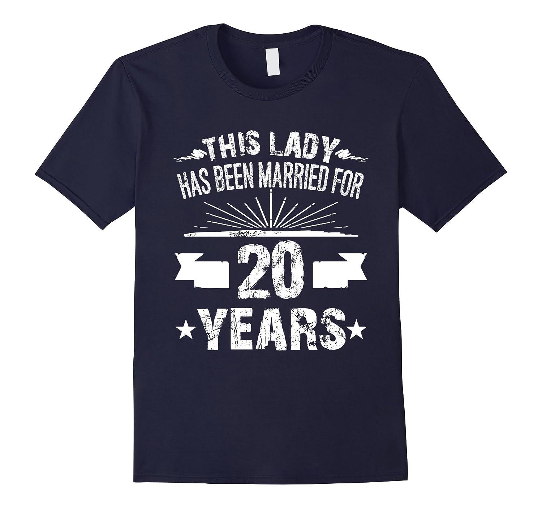 20th Wedding Anniversary Gifts 20 Year Shirt For Her-RT – Rateeshirt