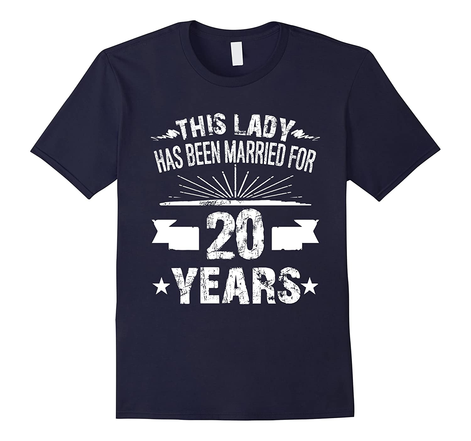 20th Wedding Anniversary Gifts 20 Year Shirt For Her-CD