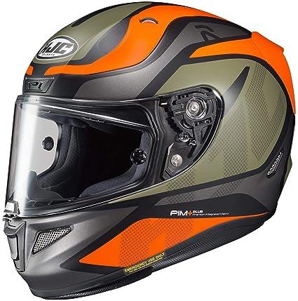 Hjc Rpha 11 >> Amazon Com Hjc Rpha 11 Pro Helmet Deroka Large Grey Camo Green