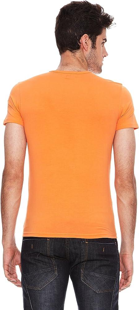 SIX VALVES Camiseta Manga Corta Flúor Naranja XL: Amazon.es: Ropa y accesorios