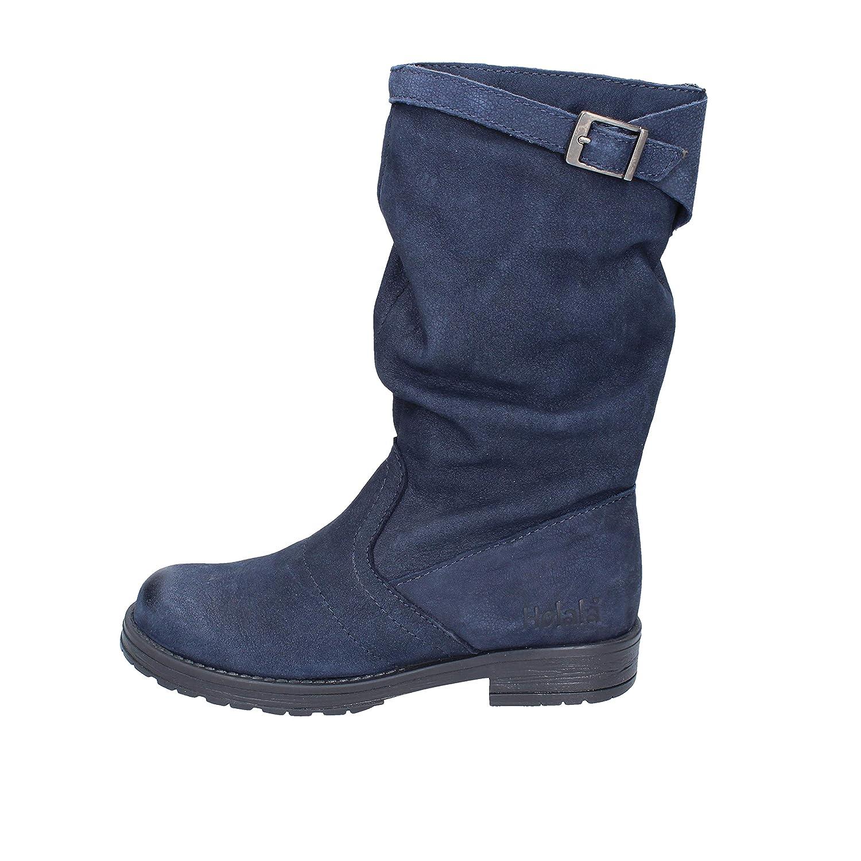 HOLALA Boots Baby-Girls Blue