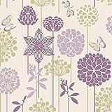 Crown Wallpaper Berry Nice in Purple M0931 Full Roll