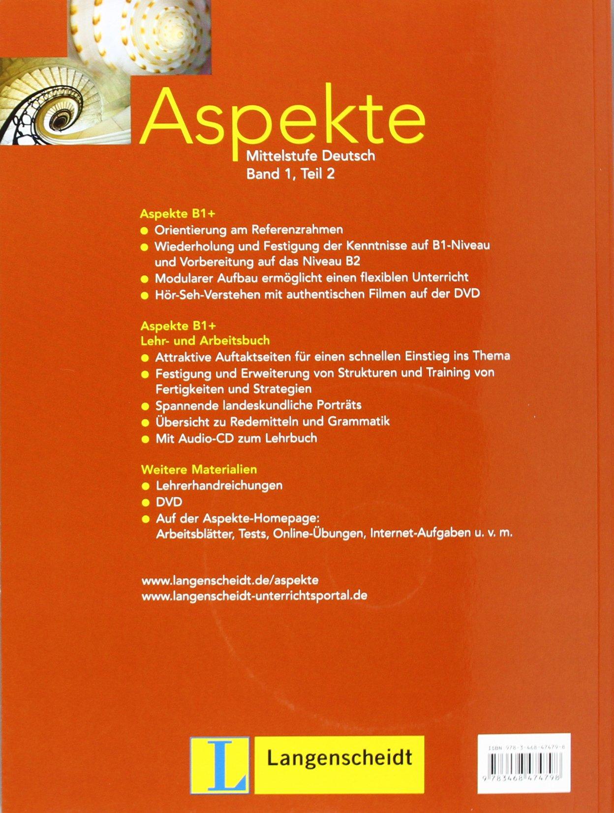 Aspekte in Halbbanden: Lehr- Und Arbeitsbuch 1 MIT Audio-CD Teil 2 ...
