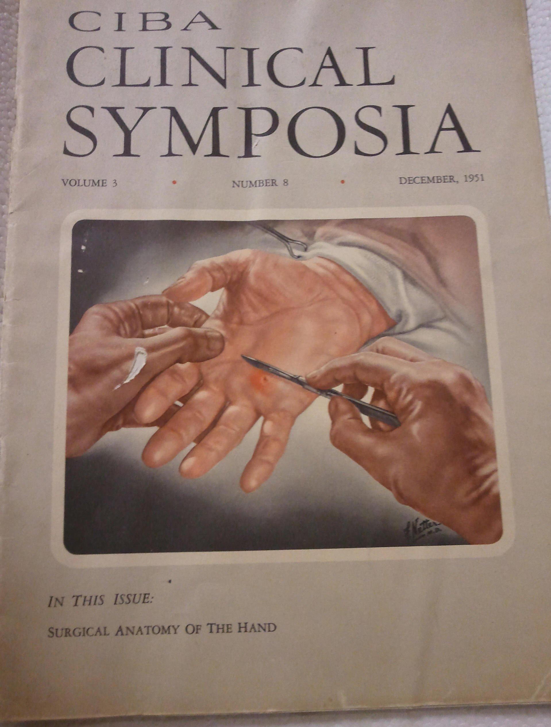 Ciba Clinical Symposia Volume 3 Number 8 \