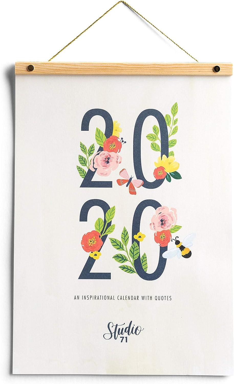 Studio 71-2020 Inspirational Wall Calendar