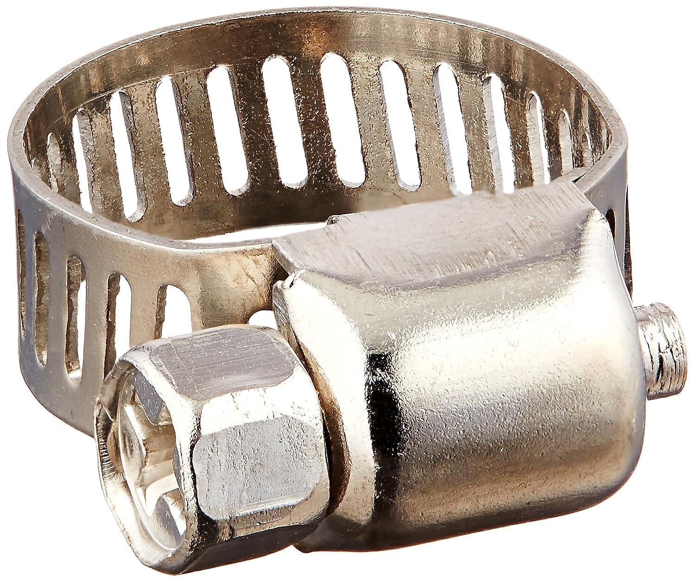sourcingmap Adjustable 13-19mm Range Band Worm Drive Hose Pipe Clip Clamp 10Pcs