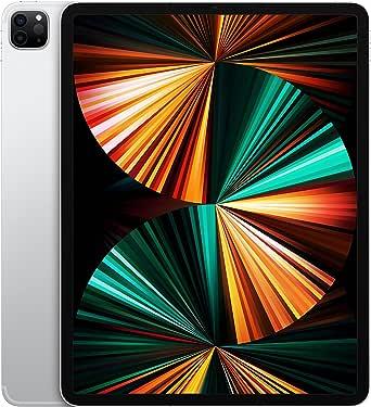 2021 Apple iPadPro (de 12,9Pulgadas, con Wi-Fi + Cellular, 2TB) - Plata (5.ªgeneración)