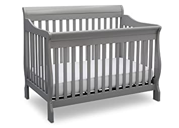 Delta Children Canton 4 In 1 Convertible Crib Grey