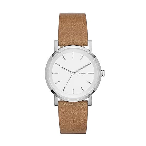 DKNY Reloj Analógico para Mujer de Cuarzo con Correa en Cuero NY2339: DKNY: Amazon.es: Relojes