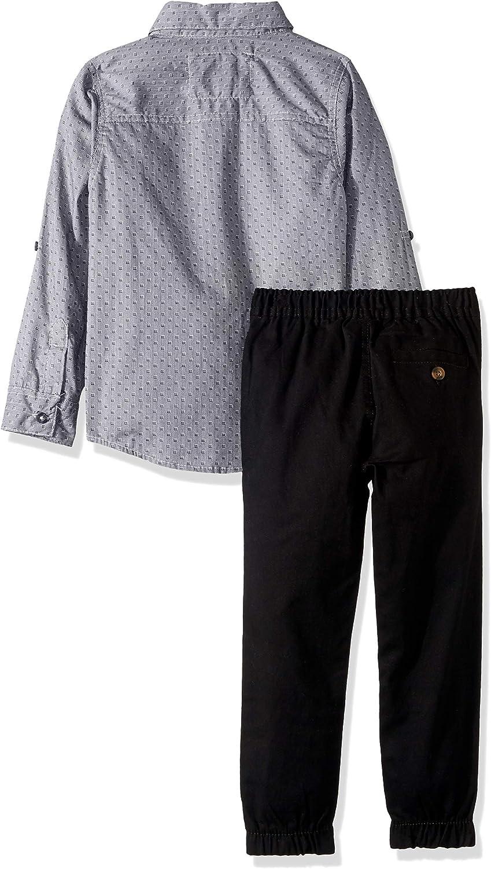 U.S Polo Assn Boys Long Sleeve T-Shirt and Pant Set