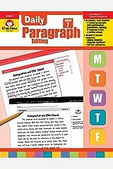 Evan-Moor Daily Paragraph Editing, Grade 7 Paperback