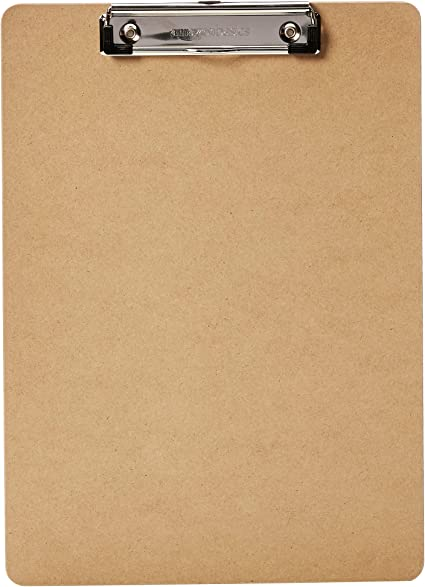 AmazonBasics - Portapapeles rígido, pack de 12: Amazon.es: Oficina ...
